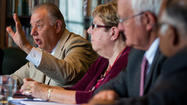 College presidents talk pension reform