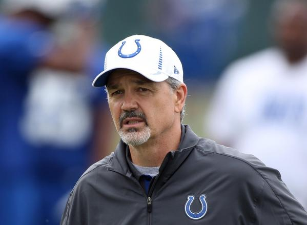 Indianapolis Colts coach Chuck Pagano conducts organized team activities in May.
