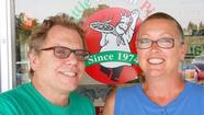 Chris and Denise Noyes own Little Italian Pizza, 373 E. Bailey Road, in Naperville.