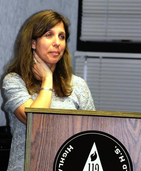Julie Levine, director for Schuler Scholars at Highland Park High School.