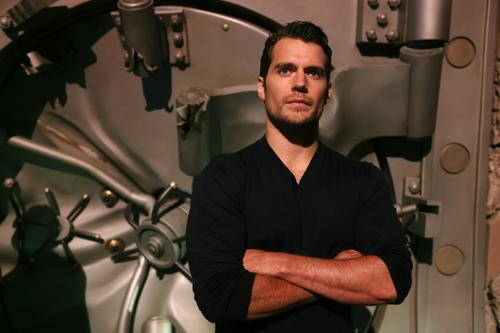 "Henry Cavill, star of ""Man of Steel,"" is now the face of Superman, and no pair of glasses could disguise that."