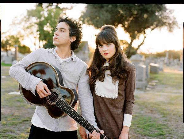 M. Ward and Zooey Deschanel make up the musical duo She & Him.