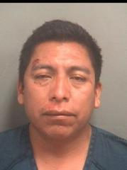 Eduardo Macario-Velasquez, 37, of Lake Worth, is charged with setting up and maintaining a place for prostitution and living off the earnings of a prostitute.