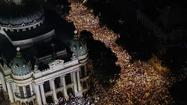 Tens of thousands protest conditions in Brazil