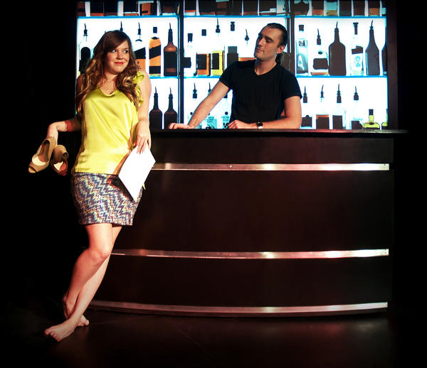 "Jen, whose boyfriend has dumped her for a guy, shares her woes with a bartender in the new theatrical production ""The D* Word -- A Musical,"" opening next month in Las Vegas."