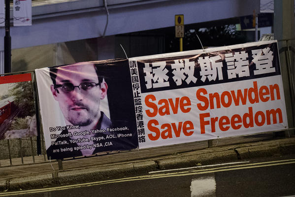 Edward Snowden's presence in Hong Kong is shining a global spotlight on the city.