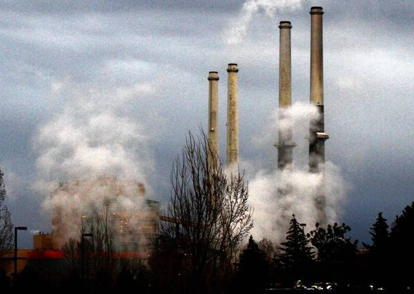 A coal-fired plant in Colstrip, Mont., owned by Puget Sound Energy. President Obama is said to be considering limits on greenhouse gas emissions from U.S. power plants.