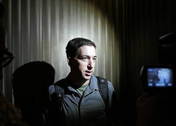 Glenn Greenwald, a reporter who broke the story on National Security Agency surveillance programs.