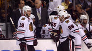 Hawks offense missing along with Hossa