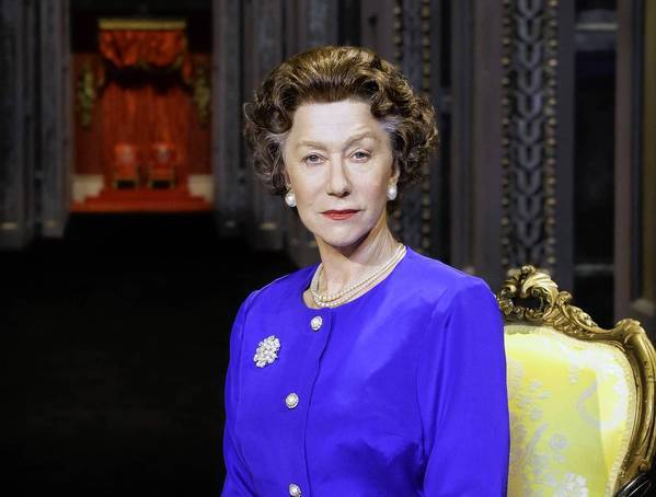 "Helen Mirren portrays Queen Elizabeth II in Peter Morgan's play ""The Audience."""