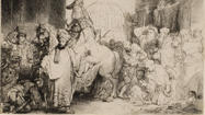 Rembrandt, Durer, Whistler Prints In Greenwich