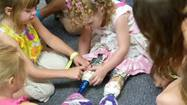 A new pair of prosthetic legs is a fit for Ireland Nugent, the Palm Harbor toddler injured in a lawn mower accident that severed both legs below her knees in April.
