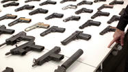 A gun buyback event held over the weekend in East Los Angeles yielded 152 weapons, the Los Angeles County Sheriff's Department said this week.