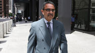 Former Chicago Ald. Ambrosio Medrano was convicted a second time on corruption-related charges when a federal jury found him guilty Monday of trying to win a contract in Los Angeles through bribery.