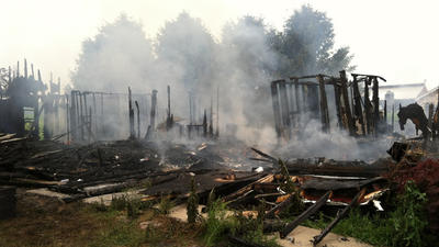 Fire destroys home on Forest Hill Farm early Tuesday