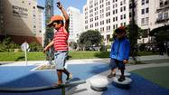 <b>Photos</b>: Downtown L.A. gets a new park