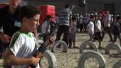 Gaza children play war in Hamas summer camp