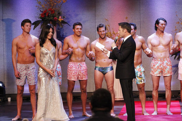 "A scene from ""The Bachelorette."""