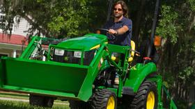 John Deere: Test drive lawn and garden equipment during Drive Green Challenge Saturday