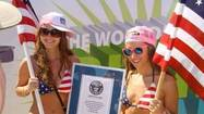 Pictures: Attempts in Florida to break world records