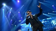 Marc Anthony en el Amway Center de Orlando.