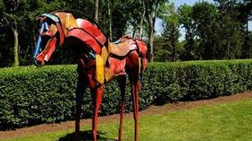 Sculpture Garden At Governor's Mansion Open For Tours