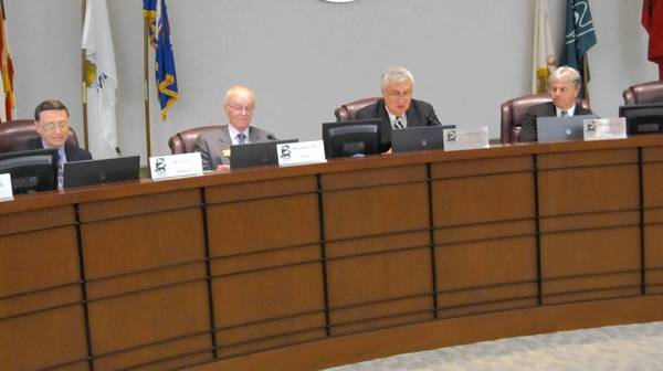 The St. Charles City Council during a June 17 meeting.