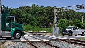 Federal agency launches app to aid rail-crossing safety
