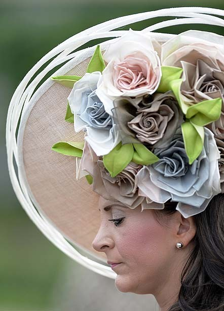 Fancy hats from the Royal Ascot horse races - Royal Ascot hats