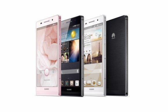 Huawei's latest device, the Ascend P6, is just 0.24 inches thick.