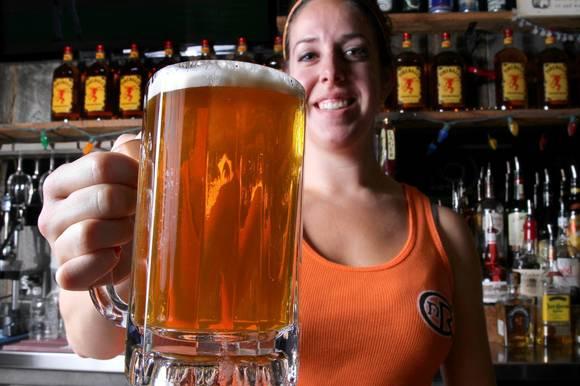 C&R bartender Estie Kruglak