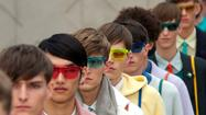 London men's fashion week: Burberry Prorsum spring-summer 2014