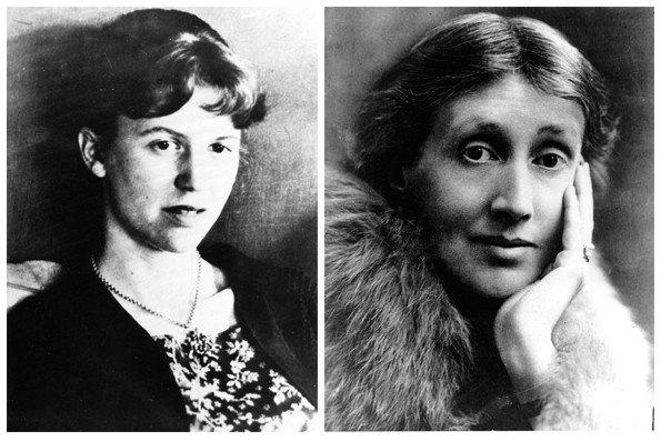 Sylvia Plath and Virginia Woolf