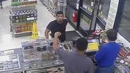 Credit-card skimming suspect caught on video