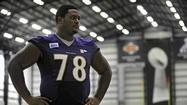 "Ravens offensive tackle Bryant McKinnie raised eyebrows -- well, he at least raised mine -- last week when he said that his goal for the season is to be ""the best left tackle in the league."""