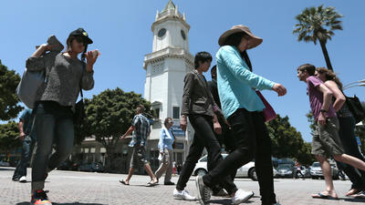 Westwood Village wants to be cool again