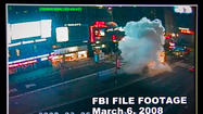 A bicycle-riding bomber who attacked a Times Square military recruitment station may have been involved in two similar unsolved bombings in New York City, the FBI and police said Tuesday as they released video of the suspect and offered $65,000 for information leading to his capture.