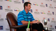 Marc Leishman is back at the Travelers Championship to defend his 2012 title.