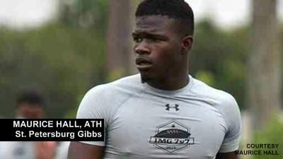 St. Petersburg Gibbs ATH Maurice Hall talks about committing to UCF