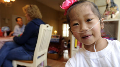 Catonsville girl receives transplant, but is rejecting heart