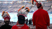 Hockey fan wants Blackhawks to suspend use of Indian head