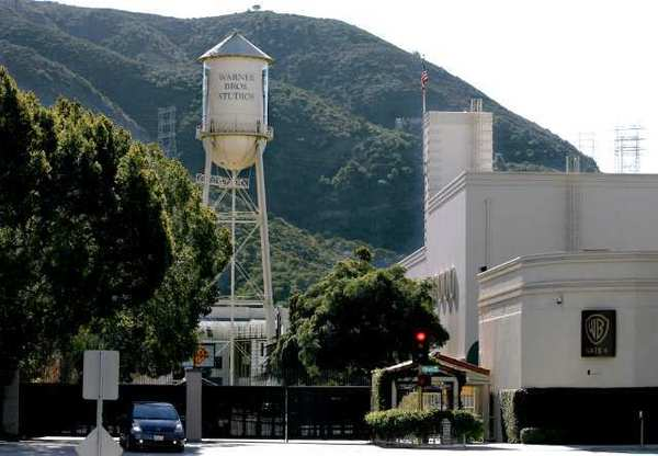 Warner Bros lot in Burbank.