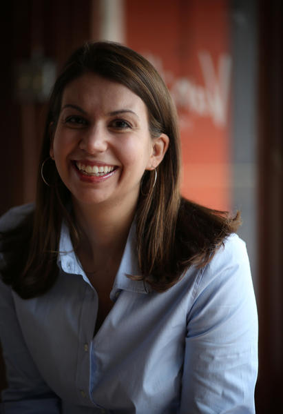 Sophie Evanoff, pastry chef and owner of Vanille Patisserie, 2229 N. Clybourn Ave., Wednesday, May 22, 2013.