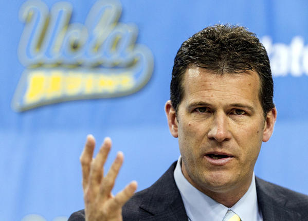 First-year Coach Steve Alford's UCLA Bruins will play Duke in Madison Square Garden on Dec. 19.