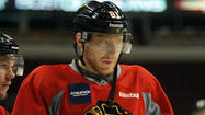 "<a>Chicago Blackhawks winger Marian Hossa</a>'s toughness and pain tolerance were called into question Tuesday by former Blackhawks star Tony Amonte, who said Hossa's inability to play in Game 3 of the Stanley Cup Final was ""just not good enough."""