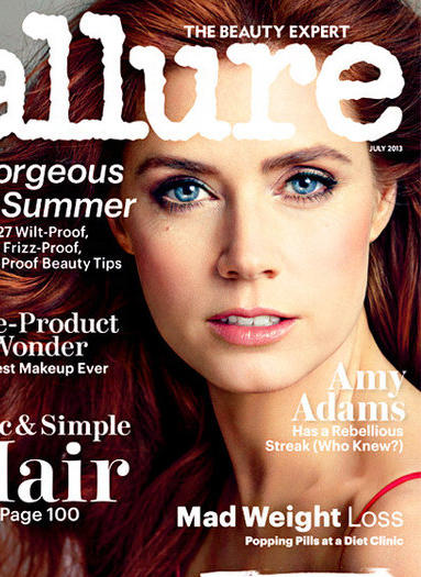Amy Adams on the July 2013 cover of Allure