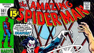 "Morbius makes an early appearance in this 1971 issue of ""The Amazing Spider-Man."" (Marvel)"