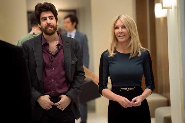 "Heather Locklear joins the cast of ""Franklin & Bash"" on TNT. With Adam Goldberg."