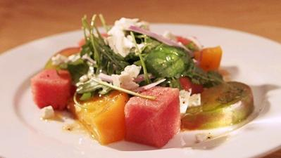 Easy dinner recipes: Melon salads and soup in under an hour