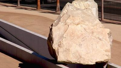 L.A. looms larger than rock in 'Levitated Mass' film